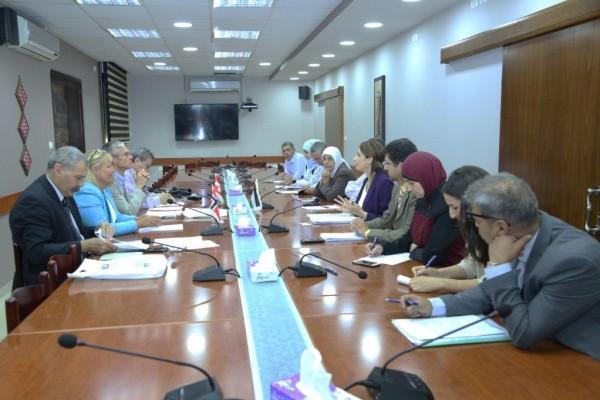 الإحصاء الفلسطيني يعقد الاجتماع السنوي مع أعضاء مجموعة التمويل الرئيسية