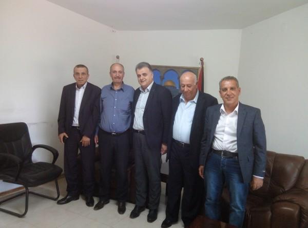 أبو يوسف وسعد يؤكدان على ضرورة استكمال تطبيق اتفاق وحدة الحركة النقابية