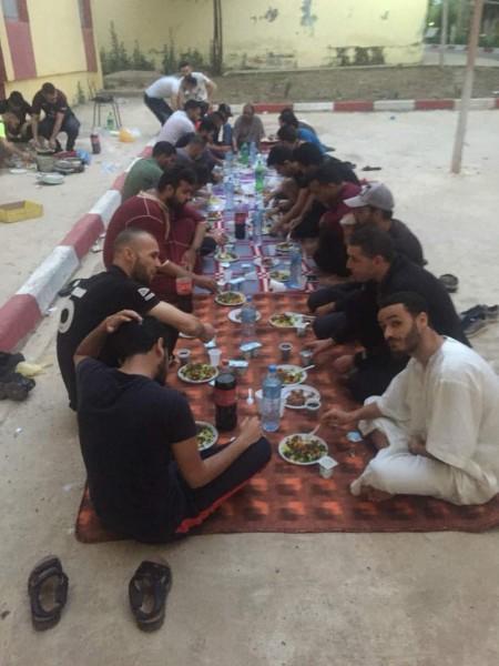 """فتح """"أقليم الجزائر"""" تقيم افطارات رمضانية فى عدة ولايات لطلبة فلسطين"""