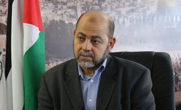 أبو مرزوق يتحدث عن المصالحة والملف الأمني والحرب على قطاع غزة