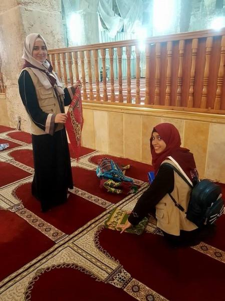 التربية تختتم فعاليات مخيم (خدمة المسجد الأقصى)
