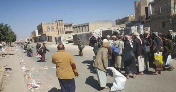 فيديو: الحوثيون يفرون من شوارع الحديدة