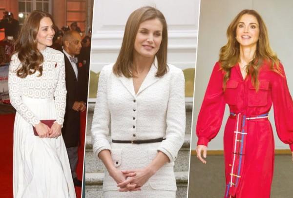 صور ملابس عيد الفطر 2018 بوحي من الملكات والأميرات
