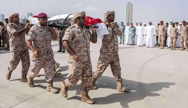 الإمارات تُعلن مقتل 4 من جنودها في اليمن