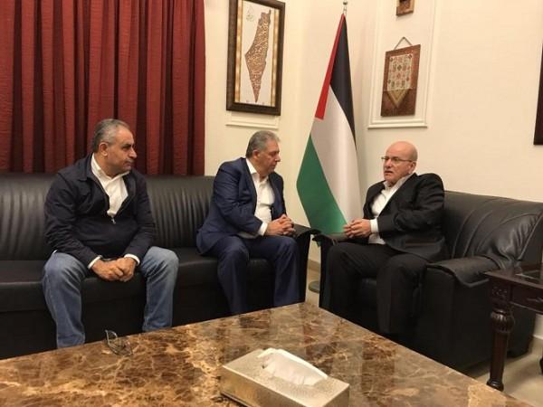 دبور يستقبل نائب الامين العام للجبهة الديمقراطية لتحرير فلسطين