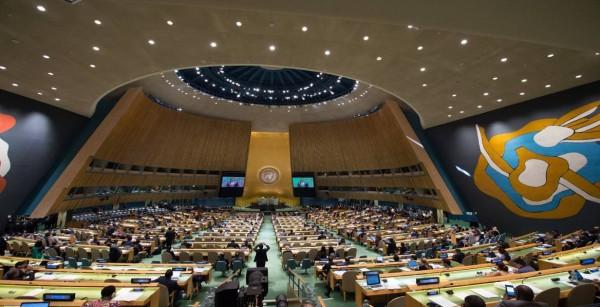 حماس ترحب بتصويت الأمم المتحدة قرار الحماية الدولية لصالح شعبنا