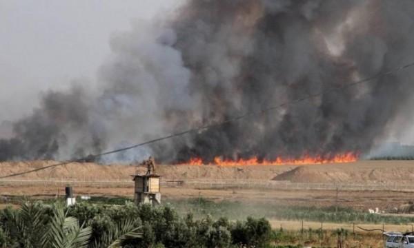 (هآرتس): اندلاع 17 حريقا بمستوطنات غلاف غزة منذ الصباح