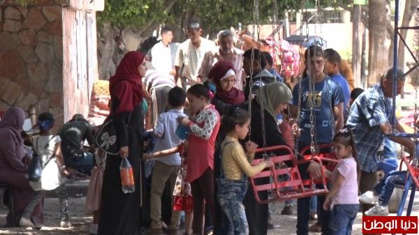 """""""دنيا الوطن"""" ترصد اجواء العيد في يومه الثالث بقطاع غزة"""