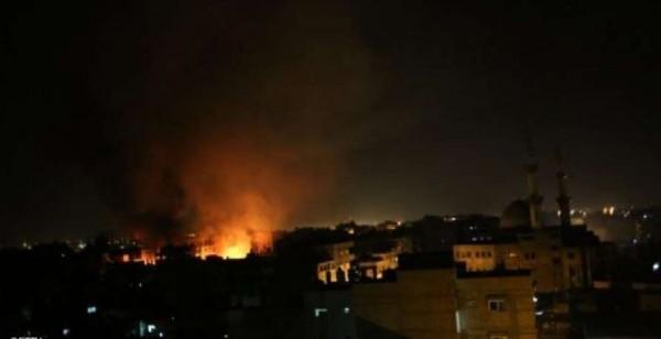 فيديو: إصابتان في قصف إسرائيلي لأهداف في قطاع غزة والمقاومة ترد