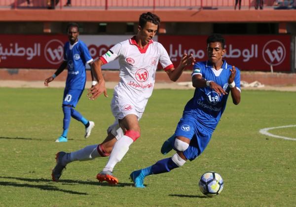 شباب خانيونس يحقق فوزا مستحقاً على هلال القدس في ذهاب كأس فلسطين