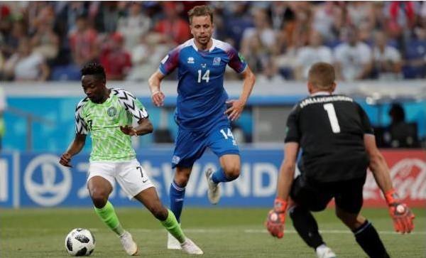 فيديو: نيجيريا تعقد حسابات المجموعة الرابعة بثنائية في أيسلندا