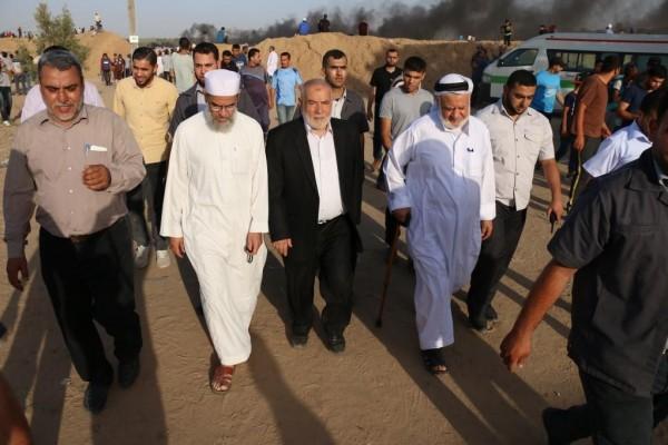 بحر: مسيرات العودة مستمرة وفاء لدماء الشهداء والجرحى حتى تحقق أهدافها