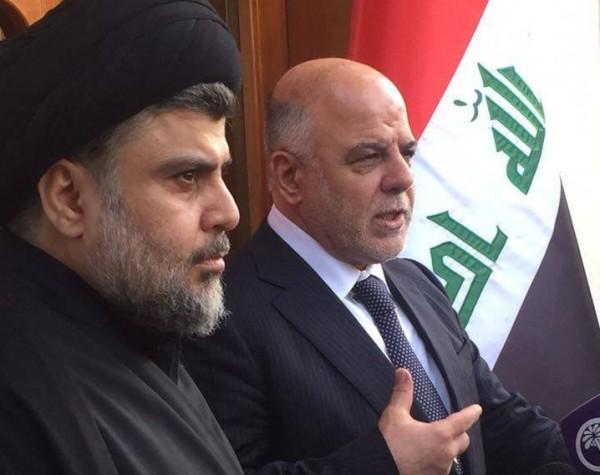 تحالف تاريخي بين الصدر والعبادي في مجلس النواب العراقي