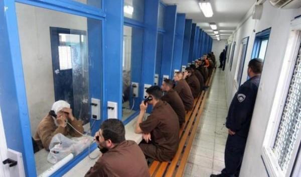 43 من أهالي الأسرى يزورون أبناءهم في سجن (نفحة)