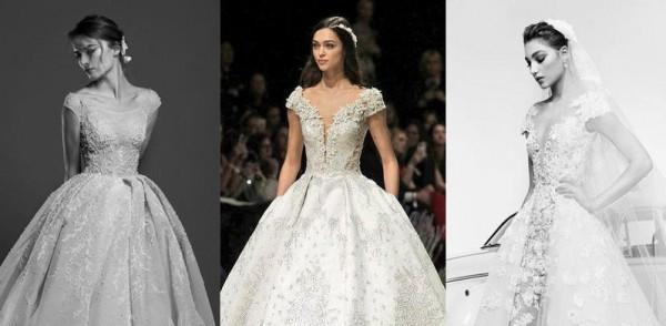4160bb396d44f أجمل فساتين زفاف 2019 بوحي من سندريلا