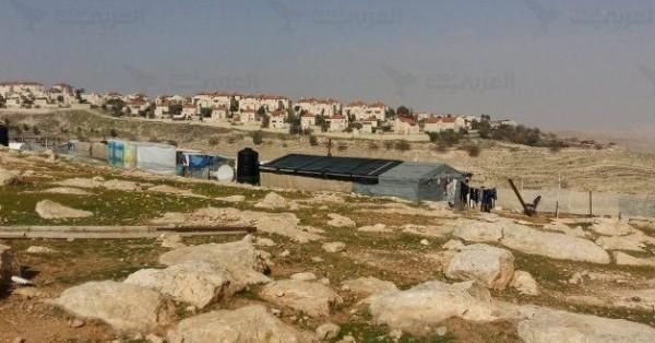 الاحتلال يسارع في اجراءات هدم الخان الاحمر