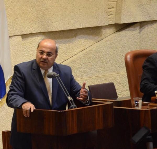 الطيبي يستجوب الوزير درعي حول مكتب الداخلية في القدس