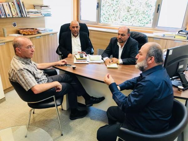 نواب الحركة الإسلامية في القائمة المشتركة يطرحون قضايا المجتمع العربي