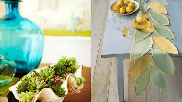 أفكار لعمل ديكورات صيفية منزلك