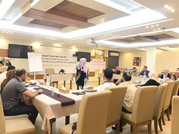 رؤيا وأمان ينفذان مجموعة ورش العمل لأعضاء اللجان المحلية للمساءلة المجتمعية