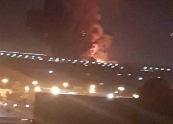 فيديو: انفجار في خزاني وقود خارج مطار القاهرة وانتظام الحركة الجوية والملاحة