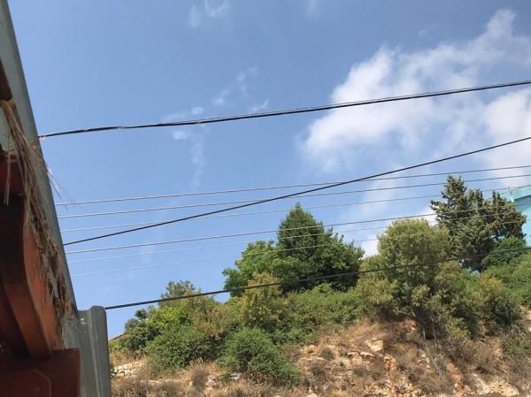 الجيش الاسرائيلي يطلق صاروخ باتريوت نحو طائرة بدون طيار قادمة من سوريا