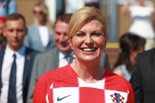 رئيسة كرواتيا تنتظر النهائي بفارغ الصبر