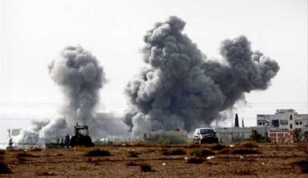 مصرع 54 سورياً في غارة جوية على دير الزور