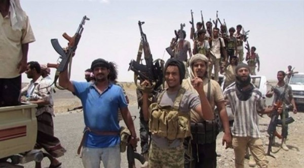ألوية العمالقة تعثر على كاميرا إعلام جماعات الحوثي