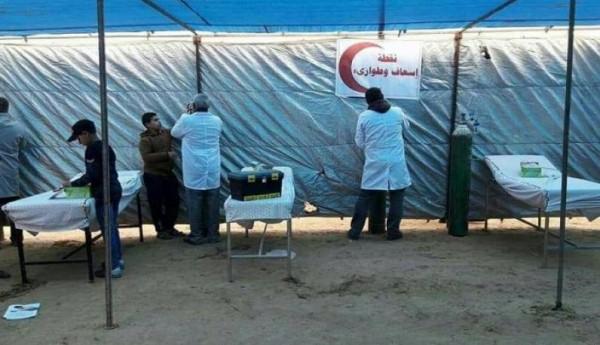 الصحة بغزة: النقاط الطبية خففت الضغط على المستشفيات بنسبة 47%