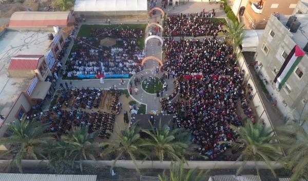 جامعة غزة تنظم حفل تكريم للطلبة الثانوية العامة في محافظة خان يونس