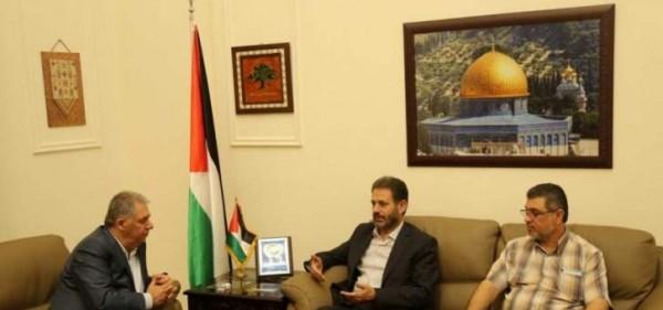 دبور يلتقي قيادة الجهاد الإسلامي في لبنان