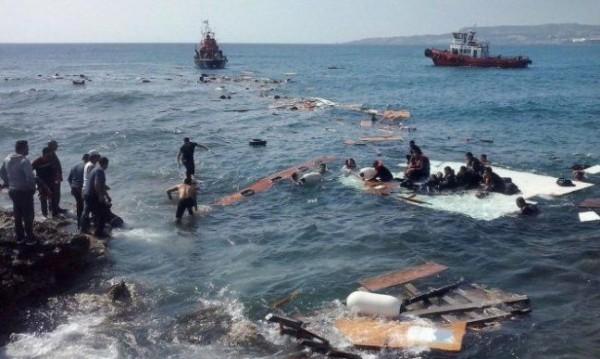 مصرع 19 في غرق قارب يحمل 160 مهاجرا شمال قبرص
