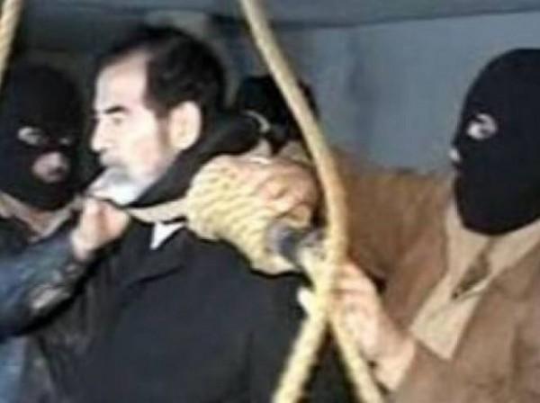شاهد: مفاجأة صادمة.. صدام حسين لم يمت شنقاً
