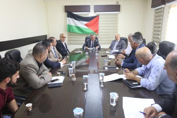 الأعرج يَطّلع على احتياجات الهيئات المحلية في ريف محافظة بيت لحم