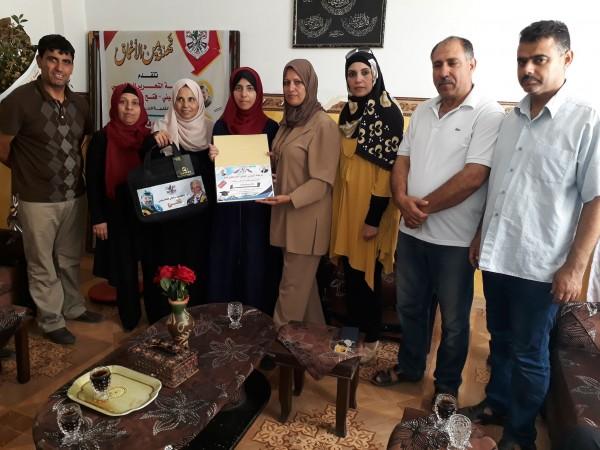 """""""قيادية فتح بغزة"""" تطلق سلسلة تكريم أوائل الطلبة للثانوية العامة"""