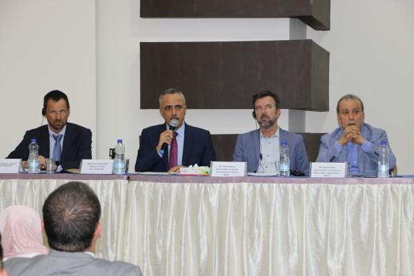 أبو دياك يشارك بحفل برنامج بناء قدرات المجتمع المدني بمجال الاتفاقيات الدولية