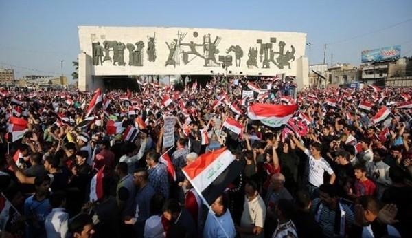 قتيلان في مظاهرات بالعاصمة العراقية بغداد