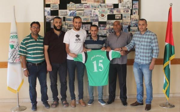 نادي الزيتون يواصل تعزيز فريقه الأول ويتعاقد مع اللاعبين محمد ومحمود البحيصي