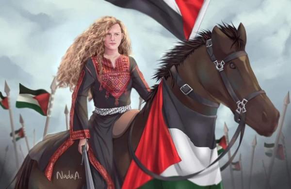 """صور: عهد التميمي تنتصر على إسرائيل من جديد عبر """"تويتر"""""""
