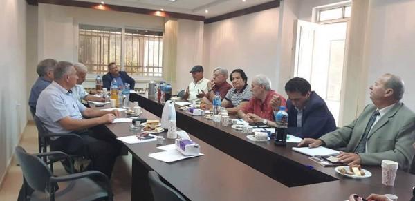 تفاصيل اجتماع الأمانة العامة لاتحاد الكتّاب الفلسطينيين مع وفد اتحاد كتاب الكرمل