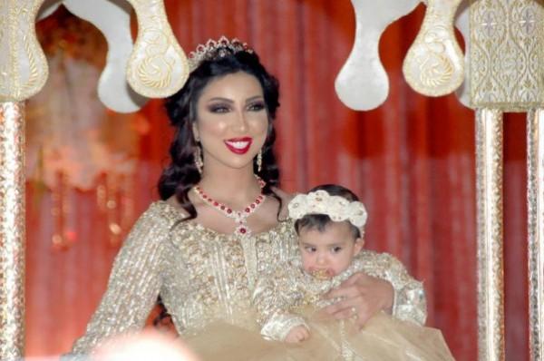 "دنيا بطمه تحتفل بعيد ميلاد بنتها بحفل مغربي اسطوري.. والجمهور""مبالغ فيه"""