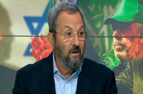 باراك: إنهاء حماس يكون باحتلال قطاع غزة