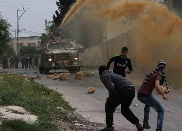 إصابات خلال قمع جيش الاحتلال لمسيرة كفر قدوم