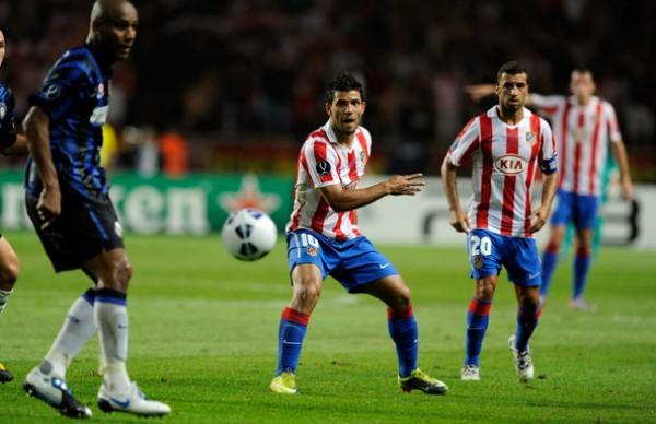 أتلتيكو مدريد يختتم استعداداته بخسارة أمام إنتر
