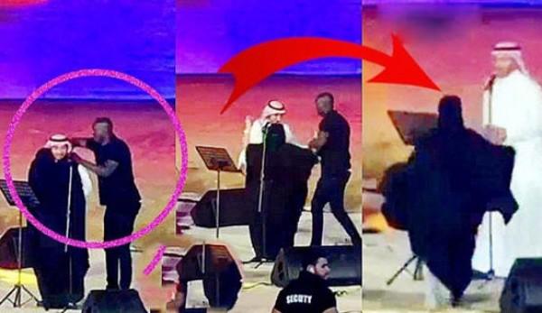 بعد واقعة ماجد المهندس.. فتاة تفاجئ فنان سوداني وتلقي نفسها بين أحضانه