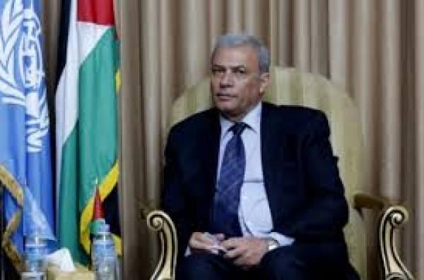 أبو عمرو وكرينبول يبحثان الأزمة المالية لوكالة الغوث