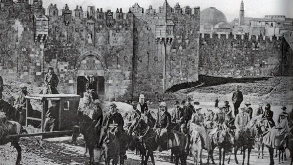 عام 1922.. مؤتمر فلسطيني لرفض الانتداب البريطاني