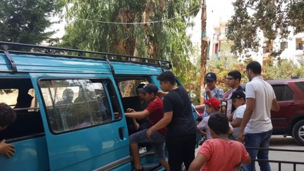 رحلة ترفيهية لمدينة المرح لأطفال دورة جيل الأقصى في مشاريع الهبة