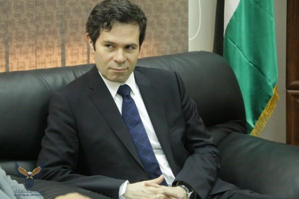 أبو أصبع يبحث مع القنصل العام اليوناني سبل التعاون المشترك